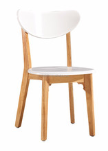 Simple Design wholesale solid wood dining chairs for sale