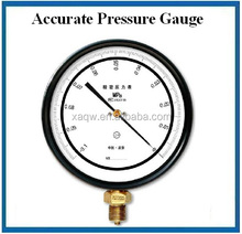 stainless steel bourdon tube high precision water pressure test gauge