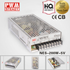 meanwell NES-200-5 single output ac dc 5v 40a switching power supply