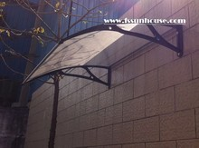 used door awnings polycarbonate awning canopy