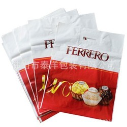 die cut plastic shopping bag high quality