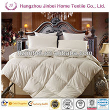 Classic Luxury 100% white Goose Down Comforter/goose down duvet/goose down quilt