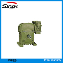 High heat-radiating efficiency WPES 50-80 worm gear reducer