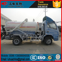 Dongfeng 4x2 right hand drive vacuum sewage suction truck 5ton