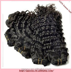 top quality afro kinky curly 4a/4b/4c hair weft double sealer no shedding no tangle Mongolian virgin hair