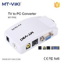2015 new av to vga converter rca composite video to vga converter PIP function av to vga/s-video converter MT-TP02