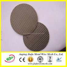 manufacture professional stainless steel extruder screen pack for plastic recycling