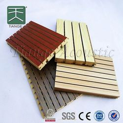 Sound Absorbing Panel acoustic wood board acoustic insulation batts for auditorium