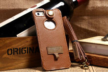 cheaper phone cover case For iphone 5s 5c Cell Phone Mobile Brown Neck Strap Sleeve Case Pouch Bag