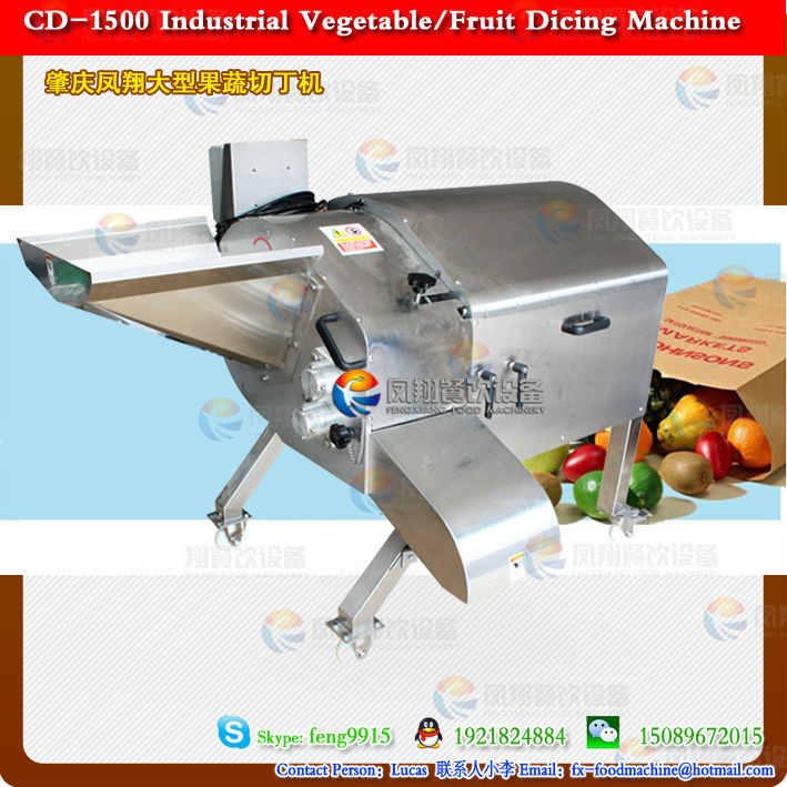 2014 Hot selling high quality Fruit/Vegetable dicing machine