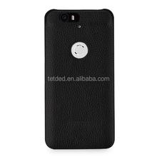 TETDED Premium Leather Case for Google Nexus 6P / Huawei Nexus 6P -- Caen (LC: Black)