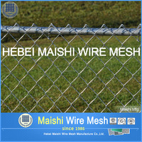 cheap 9 gauge chain link fence mesh fabric