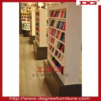 MDF Baking finish display stand for mobile accessories display rack