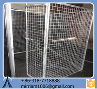 Hot sale Cheap Galvanized Wire Dog Kennels /Tube Dog Crate/Pet Cages/Dog Kennels