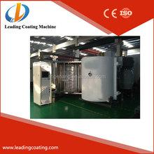 horizontal pvd metallizer vacuum coating system for plastic and auto lamp metallizing