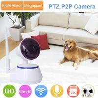 wireless surveillance support motion alarm h.264 ptz wifi ip camera