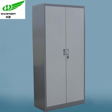 Swing door full height steel cupboard steel cabinet
