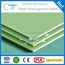 Standard Paper Faced Gypsum Boards / waterproof drywall