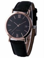 2012 Best gift and business leather strap men watch