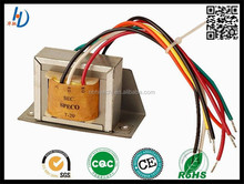 China electronic parts and customized 220V 24v audio transformers and electrical transformers