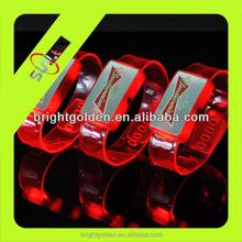 CE approved flashing led bracelet