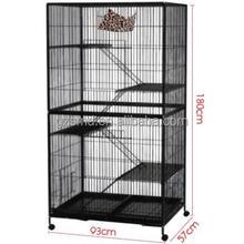 4 Level Indoor Luxury Hamster Cage