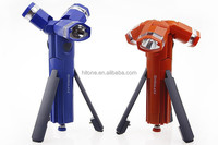 Tripod LED flashlight, ideal for camping emergency disassemble torch light