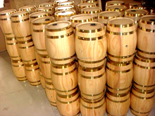 La decoración de barriles