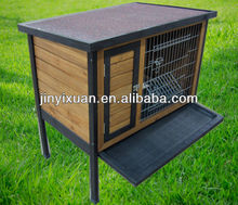 Wooden pet house for rabbits / Wooden rabbit hutch prevent sunstroke / Wooden Bunny Rabbit