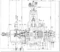 200MW turbina de vapor