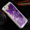 3D Glitter Bling Stars Hearts Clear Liquid for iPhone 4 4S 5 5S 5C 6 6 Plus Case