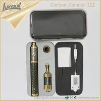 Hongwei Technology Portable Vaporizers,Carbon Spinner 3 Vape, E Cigs Vapor Kits