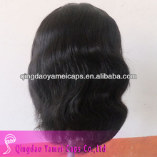 China alibaba unprocessed virgin brazilian remy human hair full lace wigs (ym-w-137)