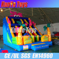 octopus slide inflatable