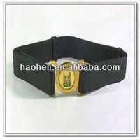 "2"" inch wide polypropylene military uniform belt with removable buckles,custom web belt"
