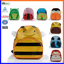 Children school bag wholesale zoo animal kids school backpack