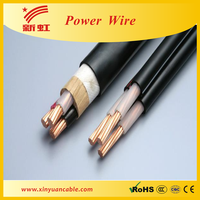 3 core shielded electric power cable