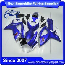 FFKSU004 Motorcycle Bodywork Fairing Kit For GSXR 600 750 K6 2006-2007 Dark Blue
