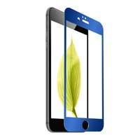 Mirror Effect Electroplating Color Tempered Glass Full Screen Protector for iPhone6 /iPhone6 plus