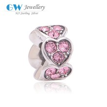 Jewellery Sale Sterling Silver Heart Jewelry Charms Birthstones Beads