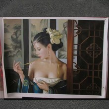 China nake girl picture paintings