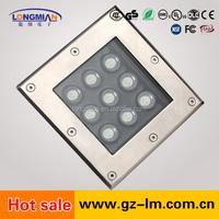 2015 china new innovative product 9/12/16/18/25/36w recessed floor lighting underground light