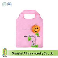 Reusable Promotion Flower Folding Shopping Bag