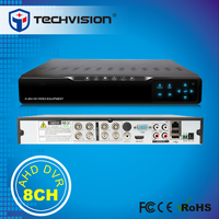 2015 new products 8ch HD DVR support IP/AHD camera hybrid DVR