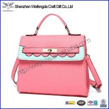 New arrival top grade geniune leather handbag for women