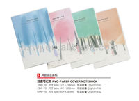 Fashion Novelty Soft PVC Waterproof Cover Notepad Used in School or Office
