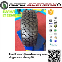 China top quality trade assurance cheap passenger car tires LT235/85R16 for ORV best choice to challenge hills,mud and snow