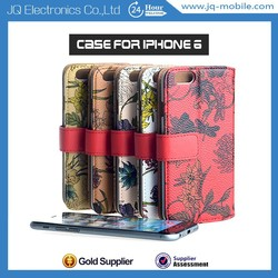 Lovely girl pouch bag case PU case leather cover case for Apple iphone 6 4.7
