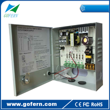 50W 6 channel 4.2A 12Volt CCTV power supply