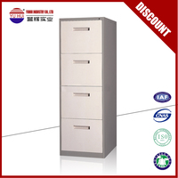 Modern design 4 drawer file cabinet / hanging file drawer cabinet